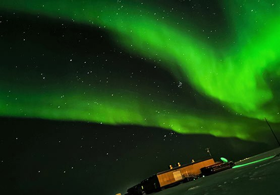 Winter Aurora Viewing at Barrow