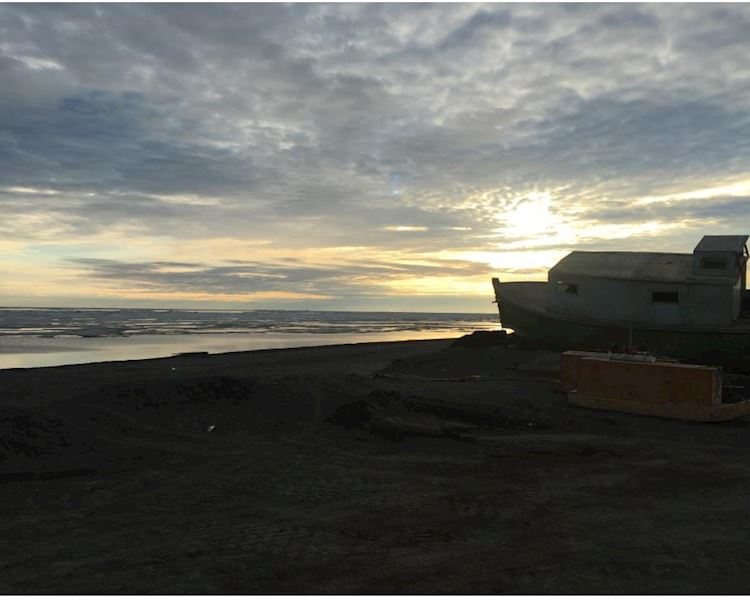 Beautiful Arctic Ocean Views at Barrow, Alaska
